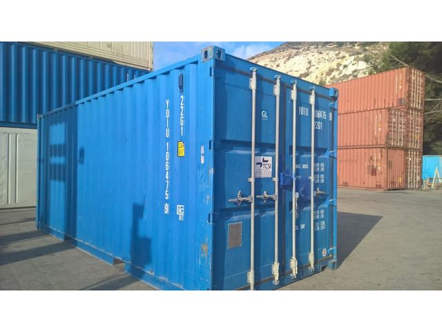 Container 20 en neuf occasion et location contact tcsi for Prix container neuf