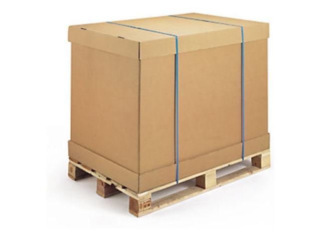 Caisse palette en carton fournisseurs industriels for Container modulable