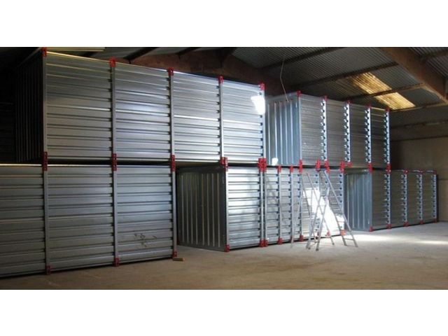 Container de stockage en kit contact containers solutions for Devis container