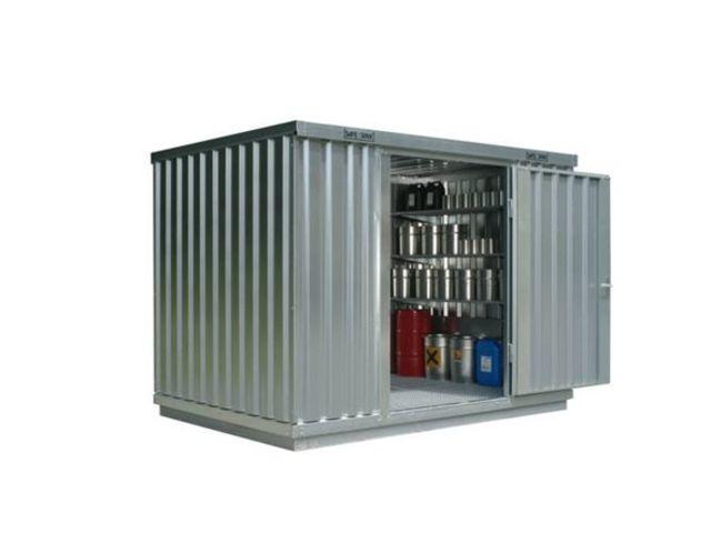 Containers de stockage de produits dangereux contact for Devis container