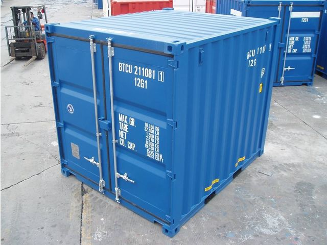 Conteneur container contenair 10 pieds 3 m tres for Container bois occasion