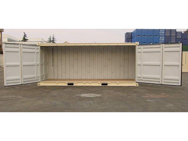 conteneur container contenair maritime et stockage 20 pieds open side 6 m tres ouverture. Black Bedroom Furniture Sets. Home Design Ideas
