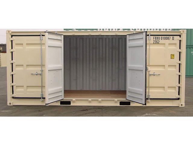 Conteneur container contenair maritime et stockage 20 for Achat container maritime