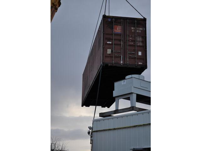 Conteneur Container Contenair Maritime Et Stockage 40 Pieds High Cube 12mètres Grand Volume