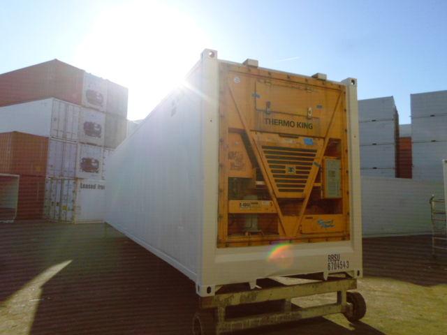 conteneur container contenair maritime et stockage 40 pieds high cube reefer chambre. Black Bedroom Furniture Sets. Home Design Ideas