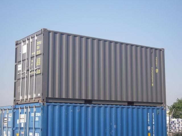 Achat conteneurs en t le for Achat conteneur maritime