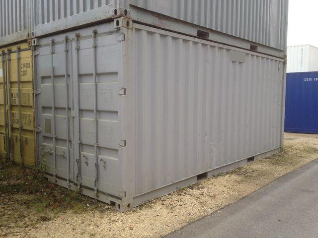 Occasion conteneurs en t le for Tarif container occasion