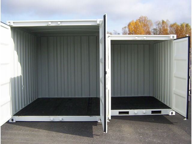 Conteneurs 8 39 et 10 39 neufs contact france container trading for Prix container neuf