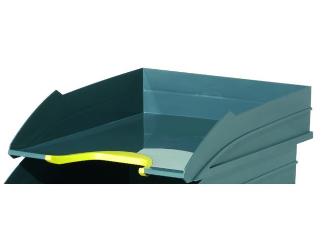 corbeille a courrier varicolor contact durable. Black Bedroom Furniture Sets. Home Design Ideas