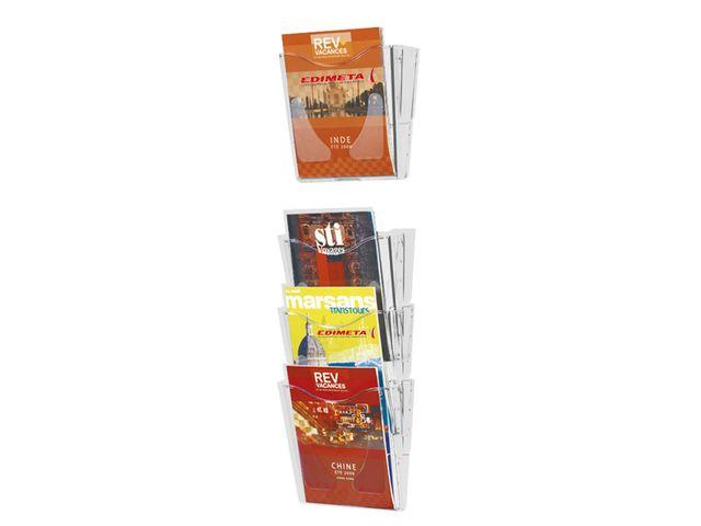 Edimeta Porte-brochures Mural Taymar/® 1 case A5 Paysage