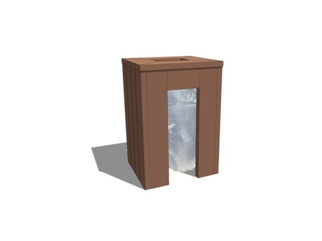 corbeille vigipirate en plastique recycl contact net. Black Bedroom Furniture Sets. Home Design Ideas