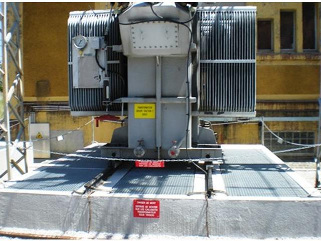 Couverture anti feu pour fosse sous transformateur for Sous compteur electrique pour garage
