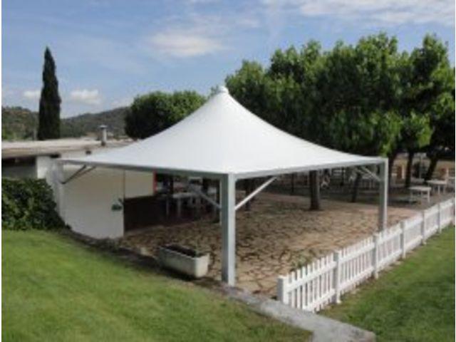 Couvertures, voiles d\'ombrages, pergolas pour terrasse : abris ouverts ou  fermés