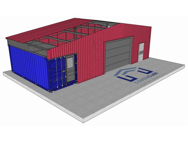 covercube b timent container contact edifices