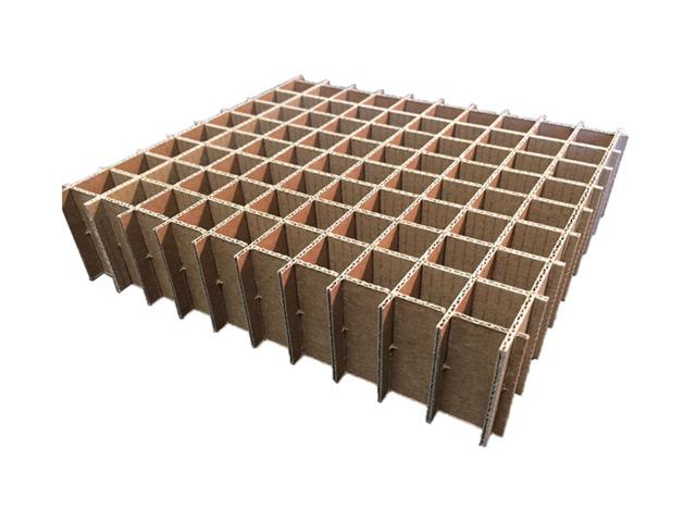 Croisillon de calage carton pour caisse d emballage for Des cartons pour demenager