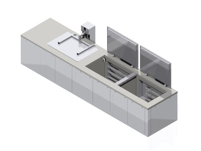 cuve de nettoyage par ultrasons delta xt contact aerosec industrie. Black Bedroom Furniture Sets. Home Design Ideas