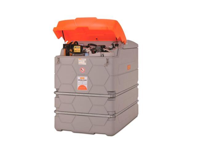 Cuve station ravitaillement gasoil 2500 l 230v enrouleur for Cuve fuel exterieur