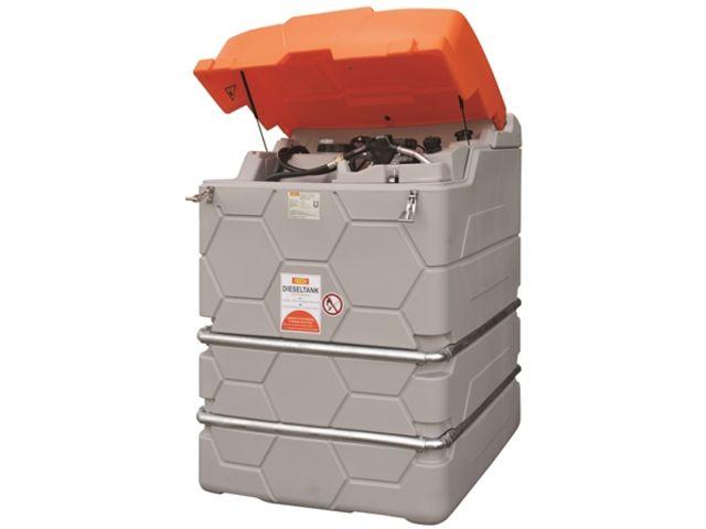 Cuve station ravitaillement gasoil 2500 l 230v ext rieur for Cuve fuel exterieur