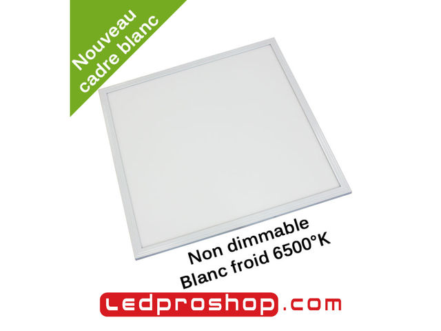 Dalle LED non dimmable 600 x 600 mm - Blanc 6500°K – 40 W_LEDPROSHOP_1