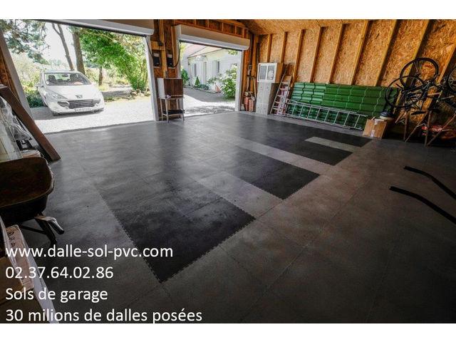 Dalle Pvc Garage