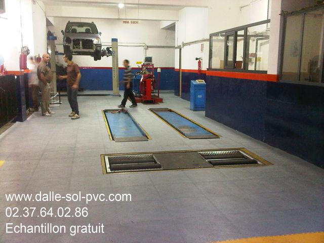 Revêtement De Sol Atelier Mécanique Contact Dalle Sol Pvccom