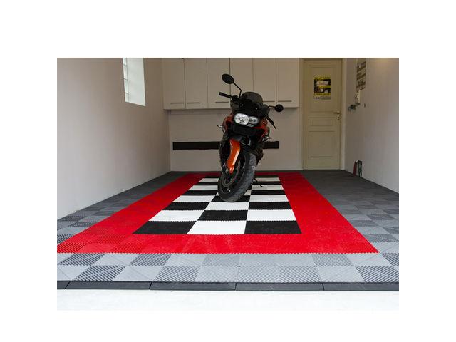 dalles polypropylène clipsables pour garage moto  contact