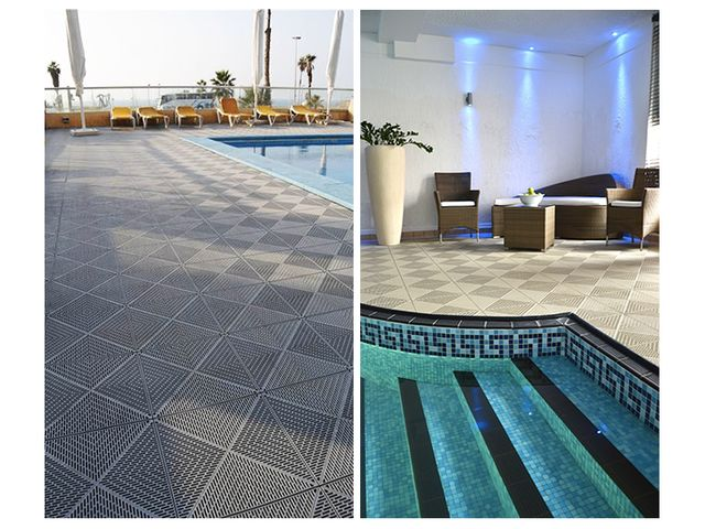 Dalles Pvc Pour Terrasse Et Piscine Contact Mosaik Creation