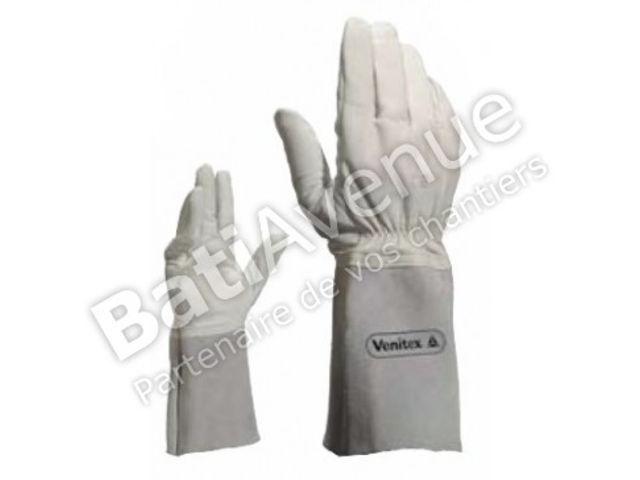 delta plus gant cuir soudeur crispin 15 cm tig15k09 contact bati avenue. Black Bedroom Furniture Sets. Home Design Ideas