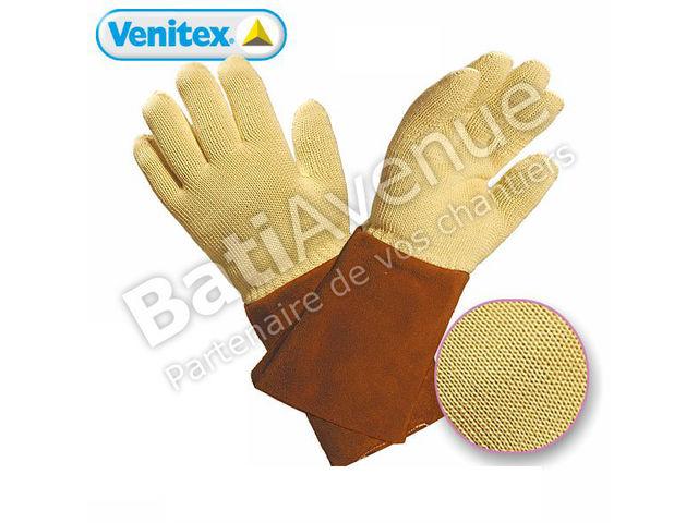 Delta plus gant kevlar anti chaleur 250 c avec manchette kca1509 contact bati avenue - Gant cuisine anti chaleur ...
