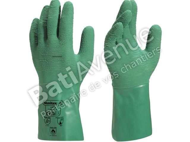 delta plus gant latex supporte adherise vert lat5008 contact bati avenue. Black Bedroom Furniture Sets. Home Design Ideas