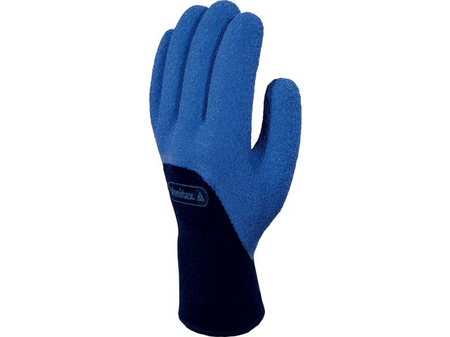 DELTA PLUS-GANT TRICOT ACRYLIQUE - PAUME ENDUITE LATEX-VE745BL090