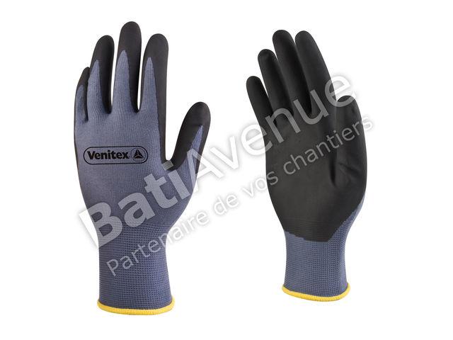 delta plus gant tricot polyamide paume enduite pu sans solvants vv80010 contact bati avenue. Black Bedroom Furniture Sets. Home Design Ideas