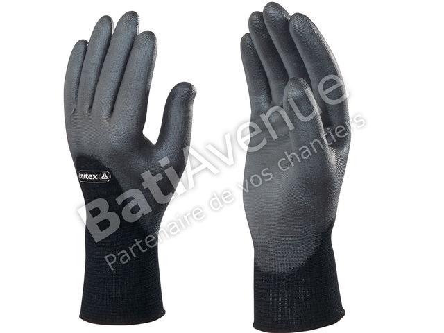 delta plus gant tricot polyamide paume pu ve703no10 contact bati avenue. Black Bedroom Furniture Sets. Home Design Ideas