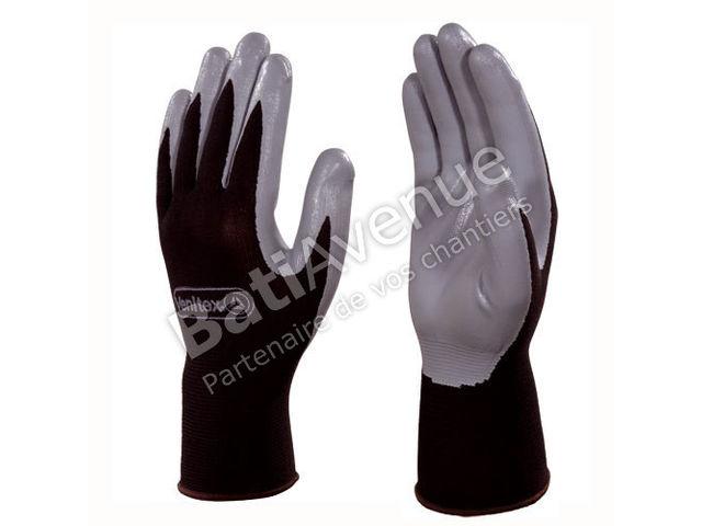 delta plus gant tricot polyester paume nitrile ve712gr010 contact bati avenue. Black Bedroom Furniture Sets. Home Design Ideas