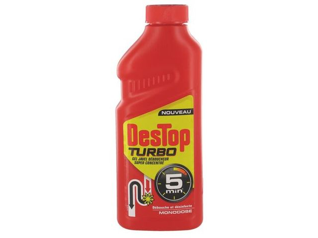 Destop canalisation TURBO JAVEL 1 L