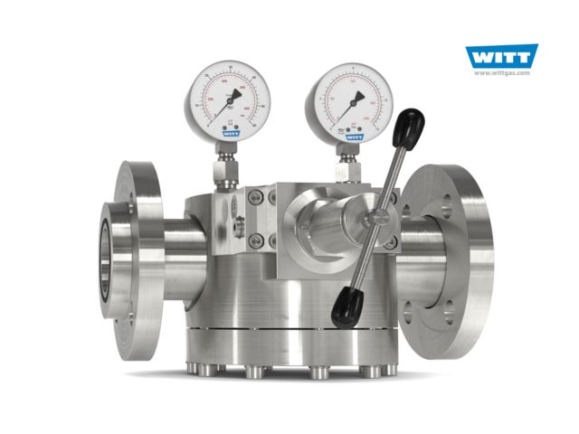 Dome pressure Regulator 757LE/S-ES, complete solution