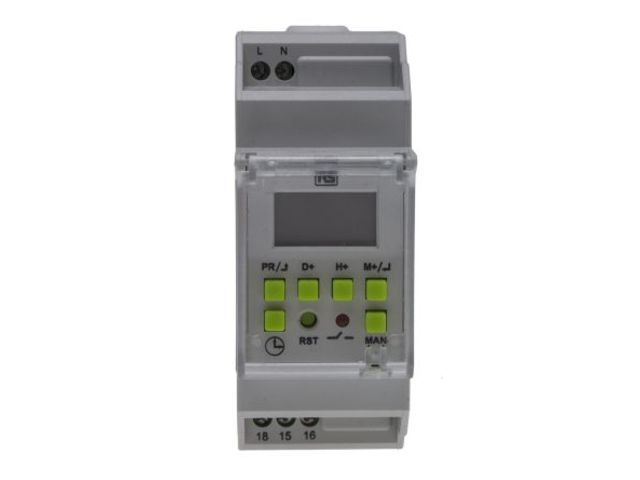 Digital Time Switch 110-240vac 1 Channel