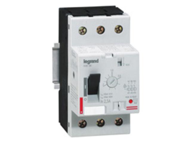 Disjoncteur moteur magneto therm 3p 25 a thermique 20 25 legrand contact sbf eclairage - Disjoncteur magneto thermique ...