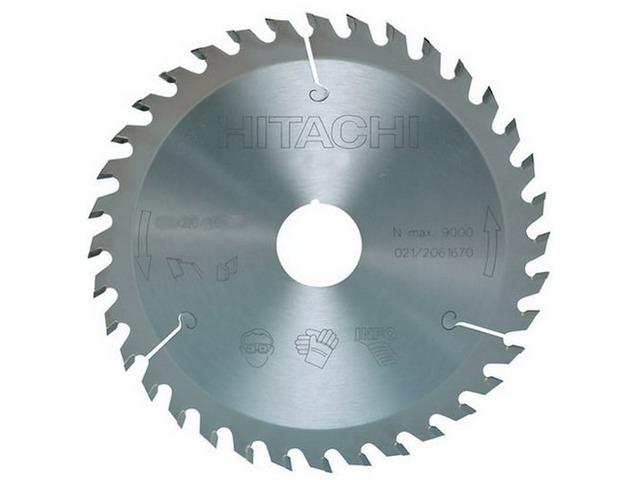Disque diam 235x30mm 18 dents pour scie circulaire hitachi - Disque scie circulaire ...