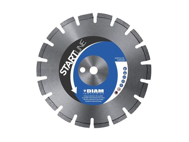 Disque Diamant AS60350 Ø350- Alésage 20-22,23-25,4  -Startline - Diam Industries