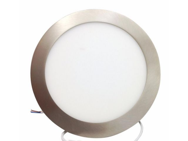 Downlight dalle LED extra plate ronde ALU 18W - Silamp France - Mandarin And Co