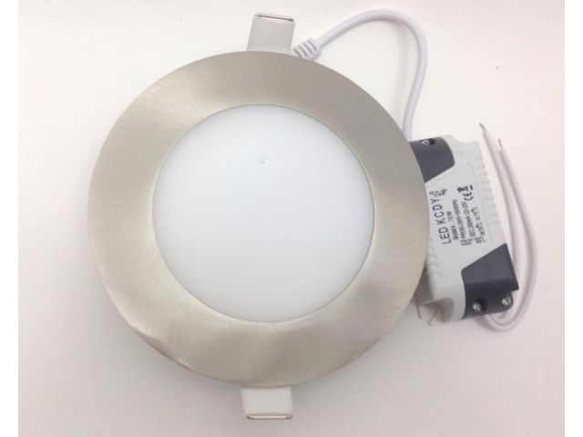 Downlight Dalle LED Extra Plate Ronde ALU 6W_MANDARIN & CO SAS_2