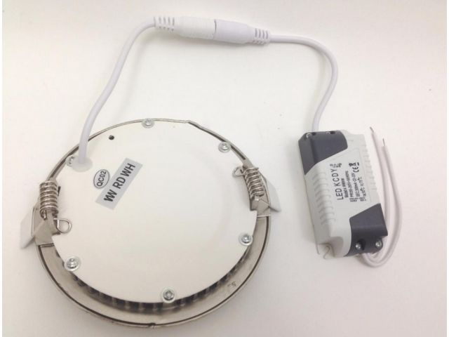 Downlight Dalle LED Extra Plate Ronde ALU 6W_MANDARIN & CO SAS_3