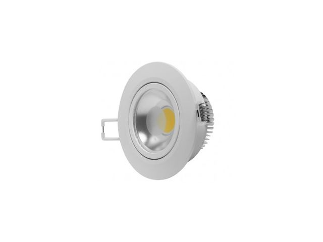 Downlight LED blanc froid orientable