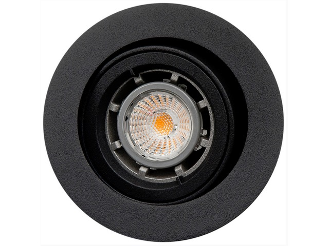 Downlight LED JUPITER OUTDOOR noir 6,5W 3000K 230V