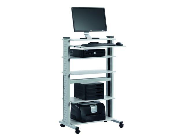 Durable meuble informatiques pour pc 125 65 vh contact durable - Meuble bureau pc ...