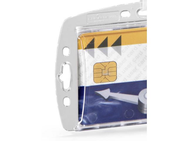 durable porte badge pour une carte de s curit avec clip contact durable. Black Bedroom Furniture Sets. Home Design Ideas