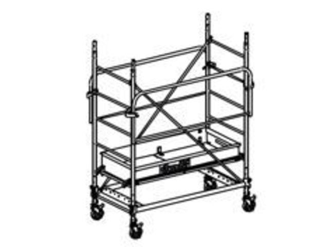 chafaudage roulants acier duarib altitude ac150 11151 contact outillage btp com. Black Bedroom Furniture Sets. Home Design Ideas