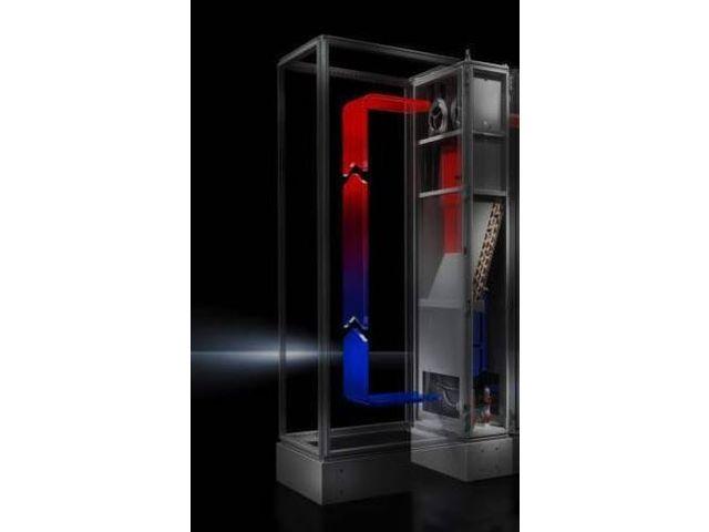 echangeurs thermiques air eau lcp industrie pour armoires electriques rittal contact rittal. Black Bedroom Furniture Sets. Home Design Ideas