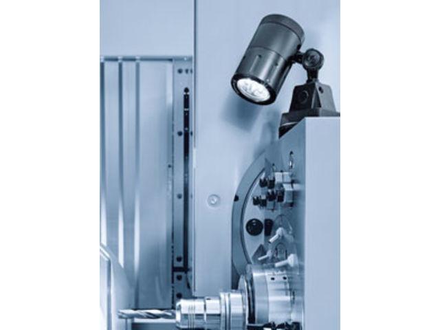 eclairage de machines spot led sur rotule contact waldmann eclairage. Black Bedroom Furniture Sets. Home Design Ideas